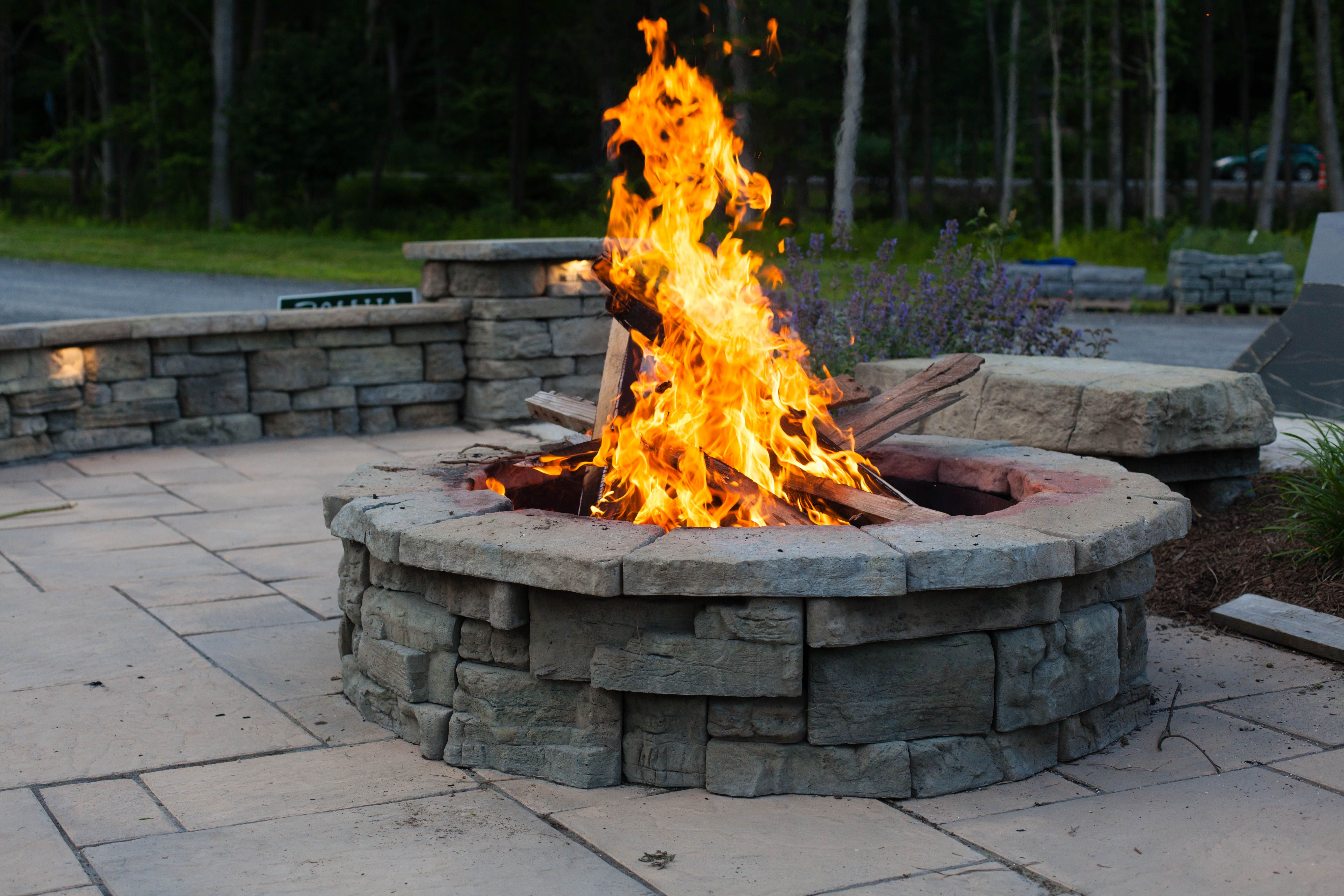 Diy Brick Fire Pit Cheap