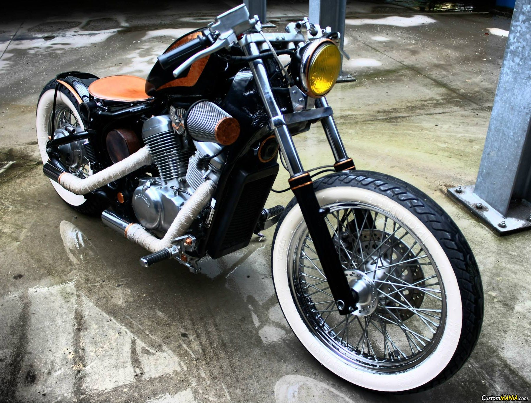 honda vt 600 shadow bobber see more on. Black Bedroom Furniture Sets. Home Design Ideas