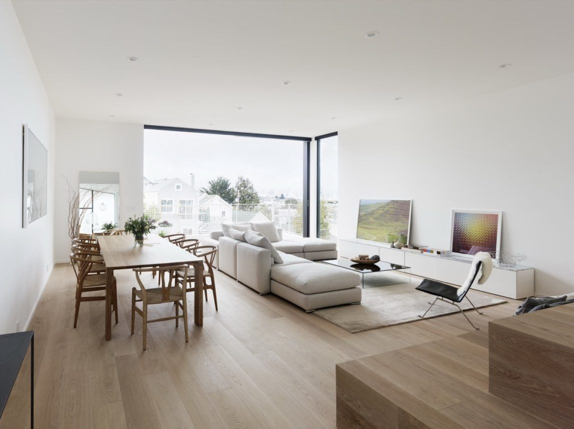 Edmonds Lee Architects Designed A Modern Home In San Francisco  # Meuble Tv Oceania