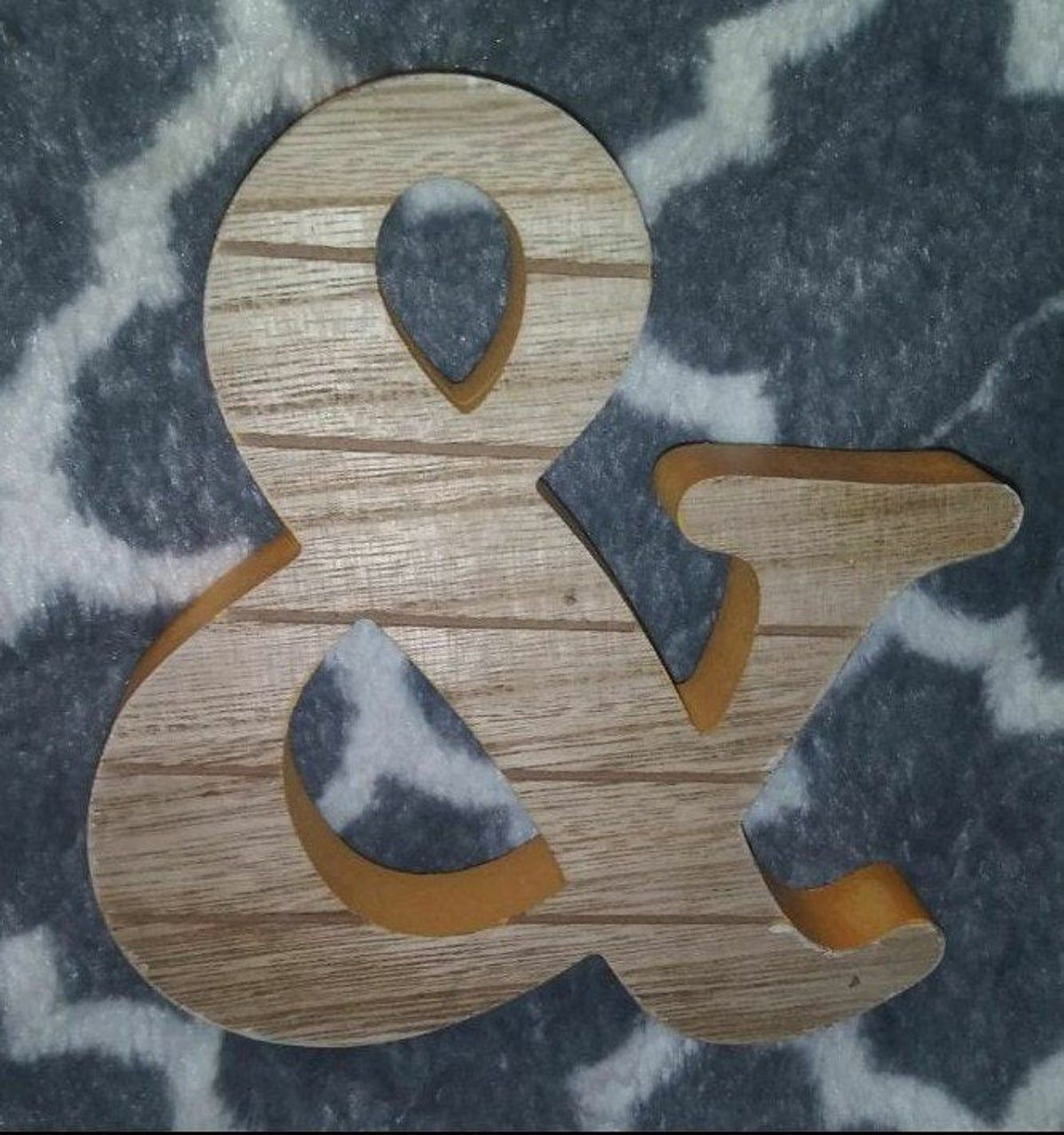 Farmhouse Target Wood Sign & And