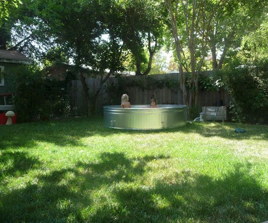 How To Build A Bathtub With A Galvanized Stock Tank