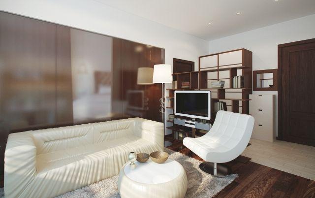Kleines Wohnzimmer modern einrichten \u2013 Tipps und Beispiele - wohnzimmer modern einrichten tipps