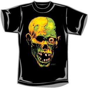 Wes Benscoter Zombie Skull