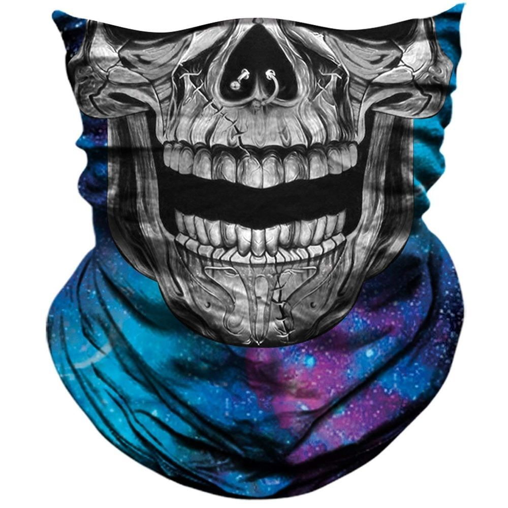 Cheap Sale 2018 Bicycle Ski Skull Half Face Mask Ghost Scarf Multi Use Neck Warmer Cod Halloween Gift Cycling Outdoor Cosplay Accessories Sales Of Quality Assurance Fitness & Body Building