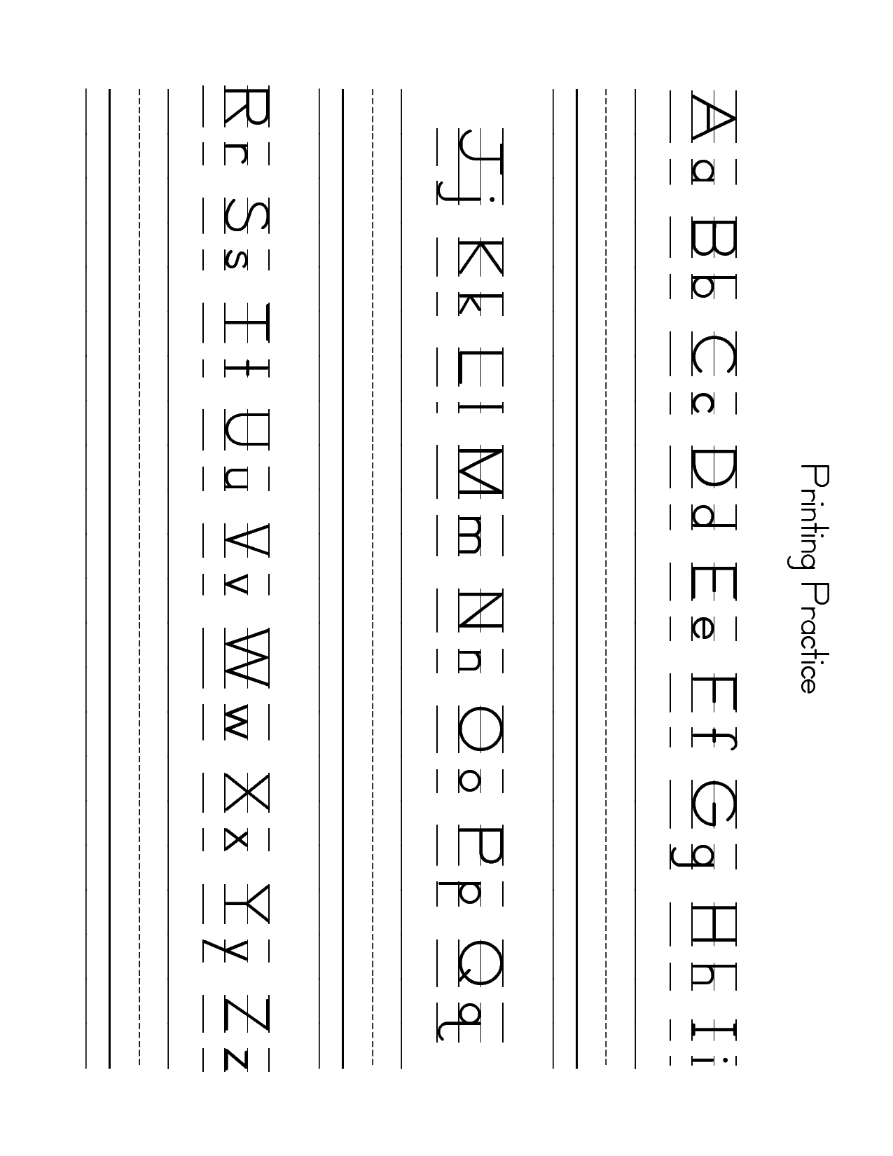 free lowercase letter worksheets zb printing practice sheet capital and lowercase letters