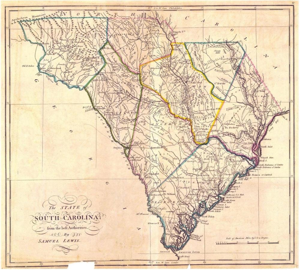 South Carolina Art Print South Carolina Map World Map Wall Etsy World Map Wall Art Map Wall Art South Carolina Art