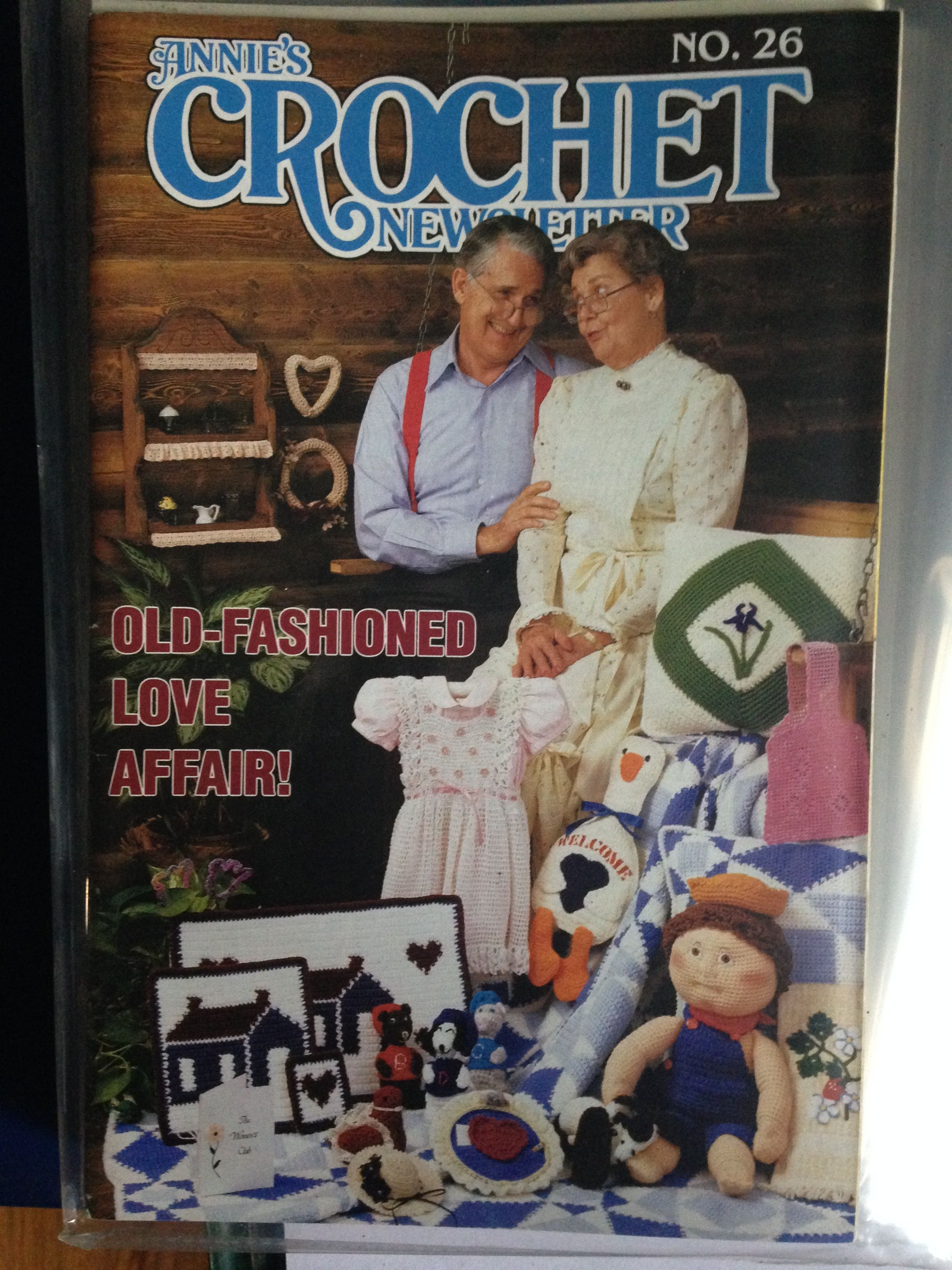 Annies crochet newsletter no26 old fashioned love