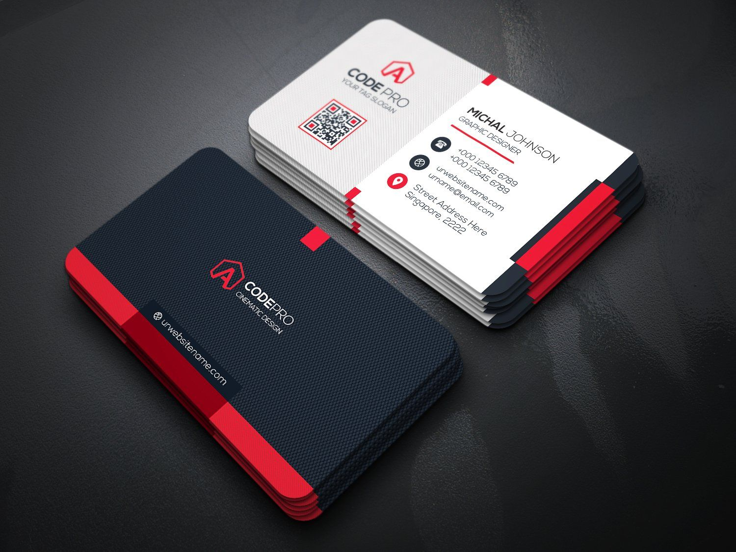 rahulbarmon : I will design dual sided professional business card ...