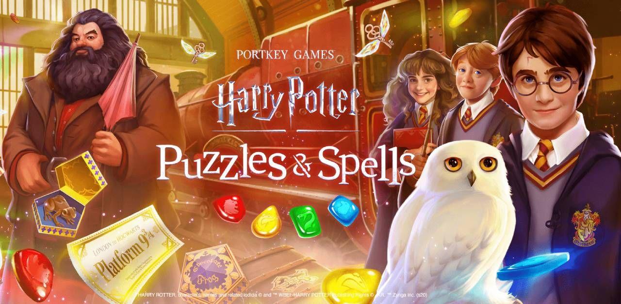 Harry Potter Puzzles Spells Mod Apk Unlimited Coins Lives Harry Potter Puzzle Harry Potter Harry