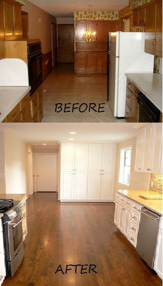 Kitchen Remodel What A Transformation Before And After Pictures