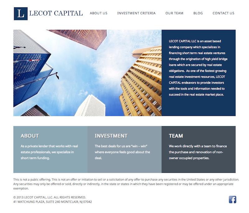 Custom Wordpress Website Design For Nj Financial Services Company Http Localbuzzllc Com Website Design Wordpress Website Design Financial Services