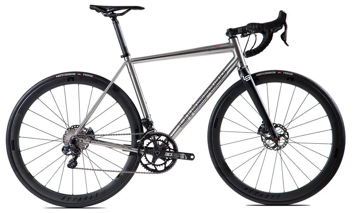 If You Want The World S Lightest Production Titanium Disc Brake Road Bike Frame Look No Further Than The Custom Butted Hand Titanium Road Bike Road Bike Bike