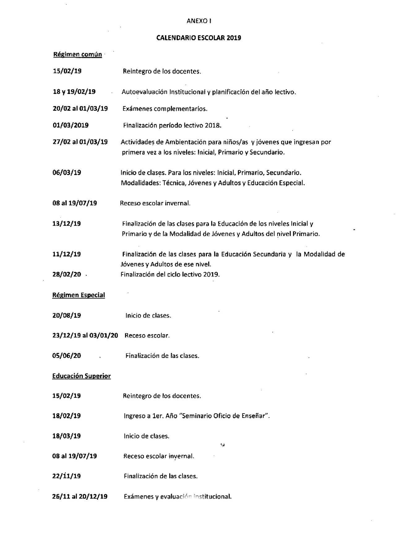 Cómo Será En Córdoba El Calendario Escolar 2019 Educación Cadena 3 Calendario Escolar Autoevaluacion Calendario