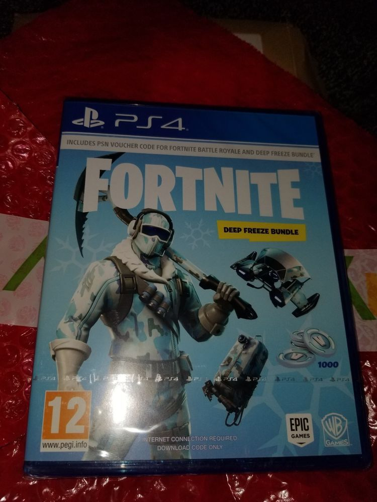 Fortnite Deep Freeze Bundle Ps4 Game Fortnite Fortnitebattleroyale