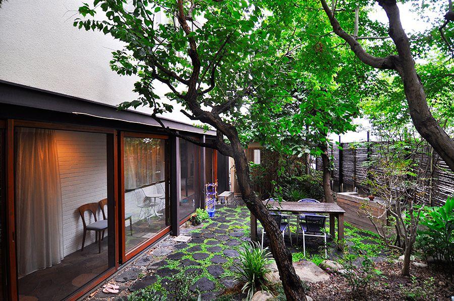 日々 人生を楽しみつつ暮らす家一目ぼれで購入した家をさらに磨き上げて 和風の家の設計 家 庭 バーベキュー