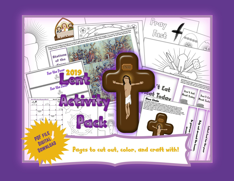Lent Activity Pack By Saongjai On Etsy
