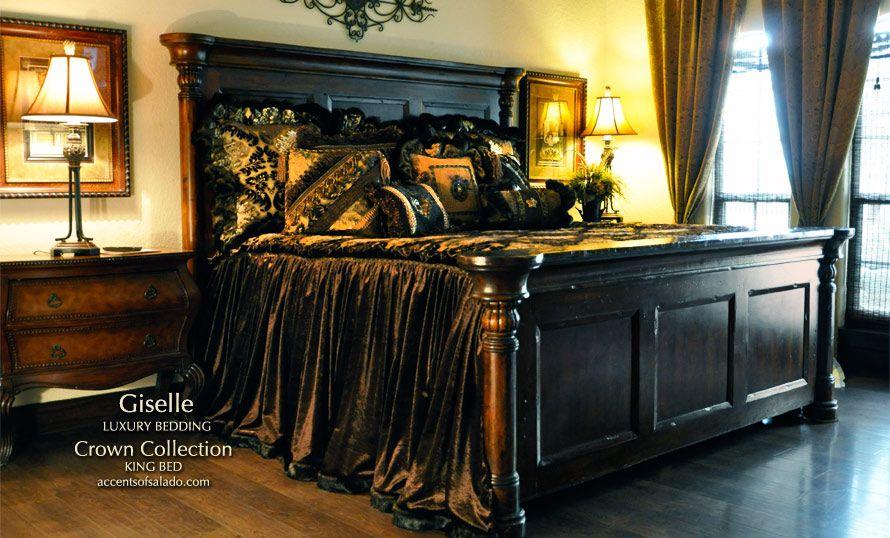 Crowni Old World Bedroom Furniture Tuscan Style Bedroom Spanish Hacienda  Style Bedroom French Country Style Bedroom Furniture