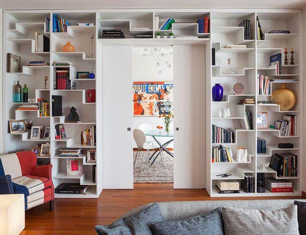 Divisione studio-soggiorno (con immagini) | Arredamento ...