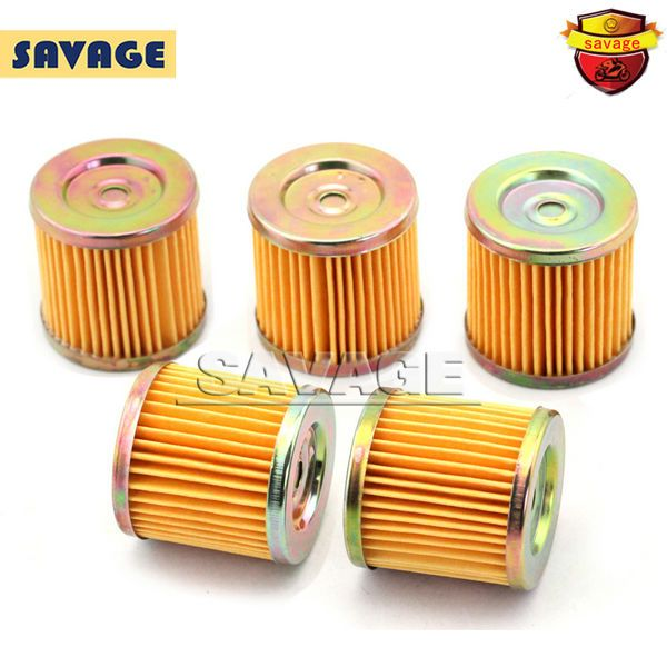 5pcs Motorcyce Oil Grid Filters for SUZUKI DRZ400 E/S/SM