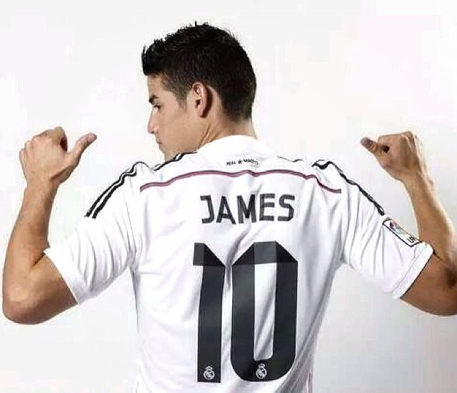 In Jus 3 Days Real Madrid Has Won 20 Millions Selling James Rodriguez S Shirt Avec Images Mode Mec