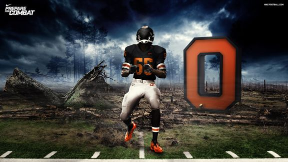 Oregon State Beavers Oregon State Beavers Oregon State Beavers Football Nike Pro Combat
