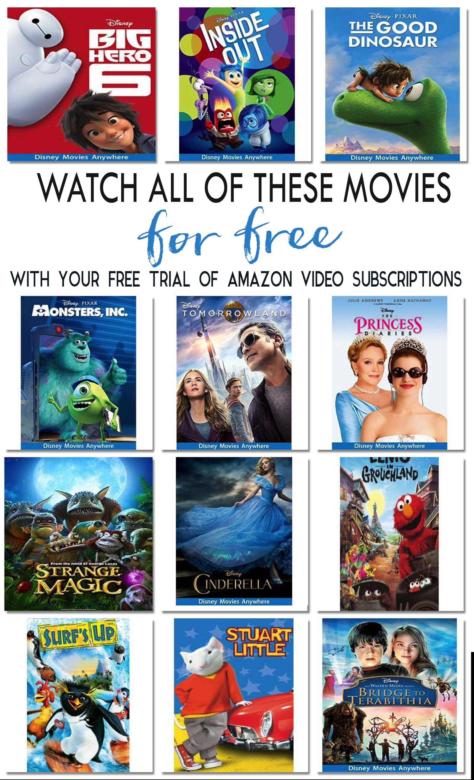 Free Movies Free Kids Movies And Family Friendly Favorites Watch All These Movies For Free With Your Fre Free Kids Movies Disney Movies Anywhere Kids Movies