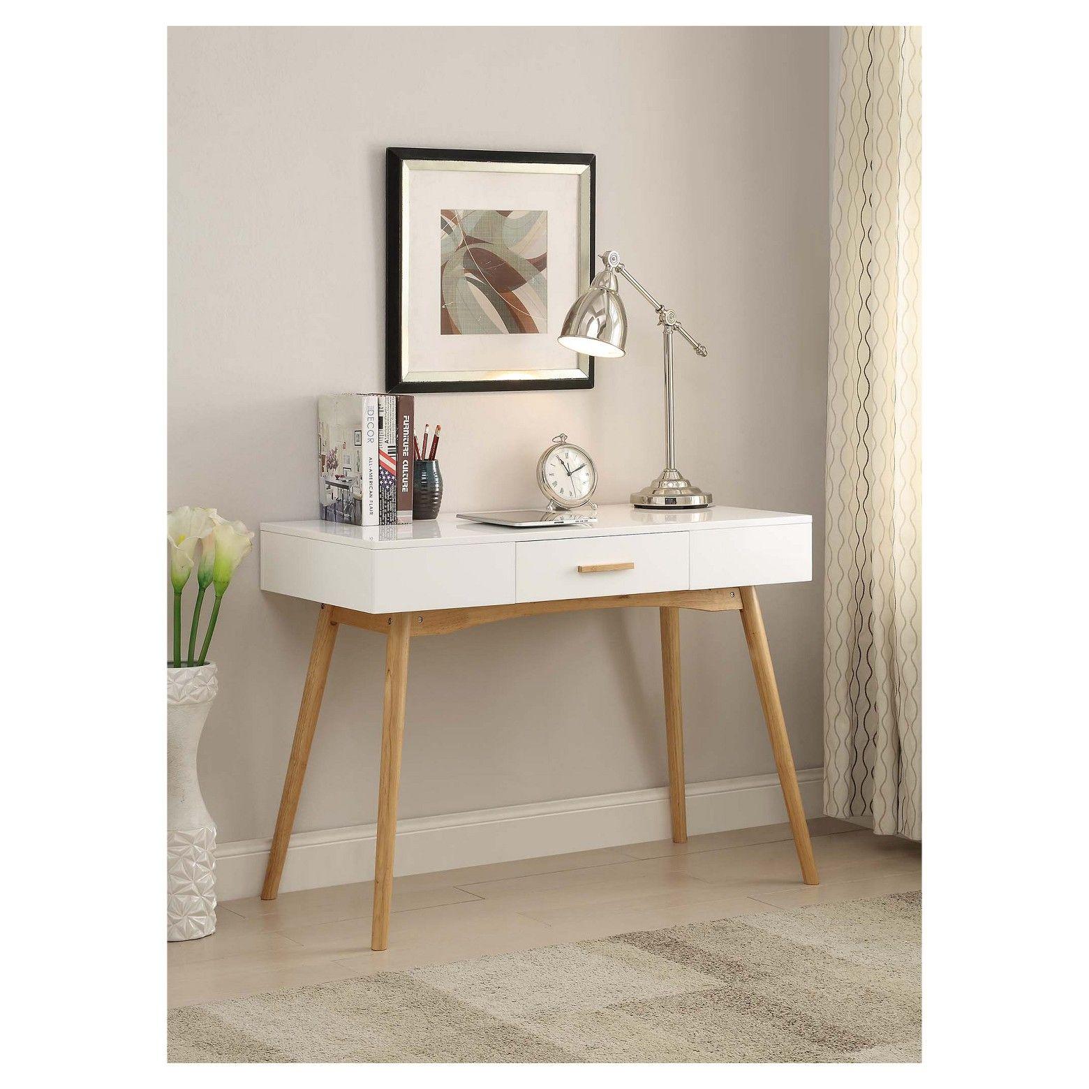 escritorio blanco Muebles para casas pequeñas, Diseños