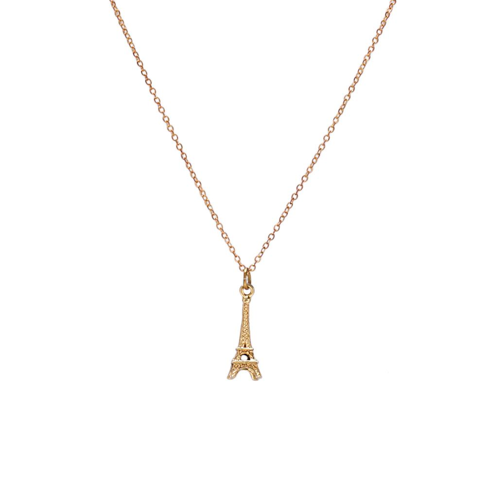 I love the Flea Market Girl Eiffel Tower Necklace from