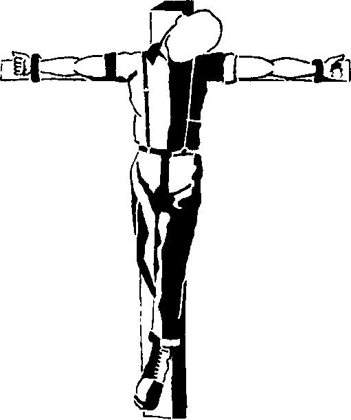 Crucified skinhead tattoo meaning