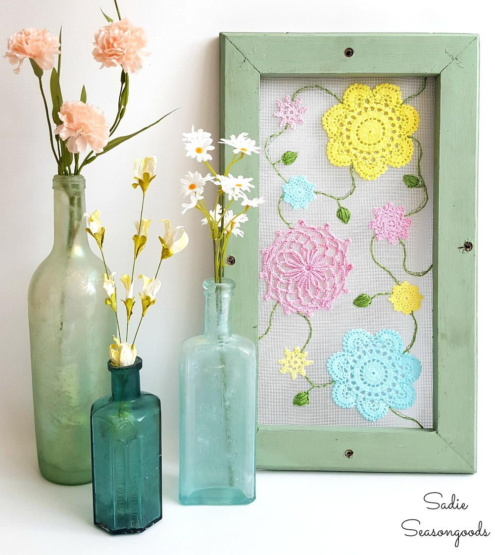 Diy Sewing Projects Home Decor: Summer Cottage DIY Home Decor