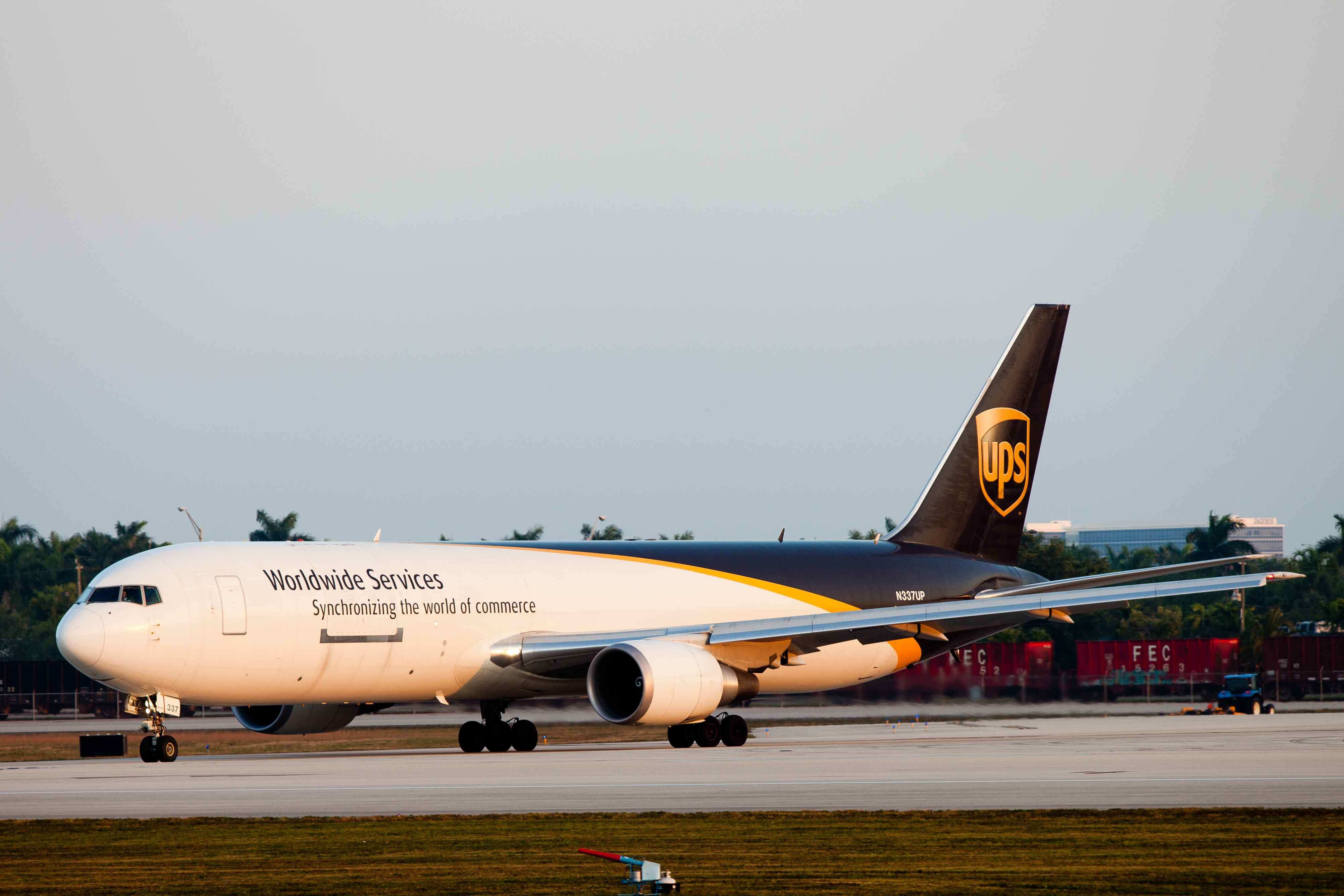 UPS Boeing B 767 300F Cargo airlines, Boeing aircraft