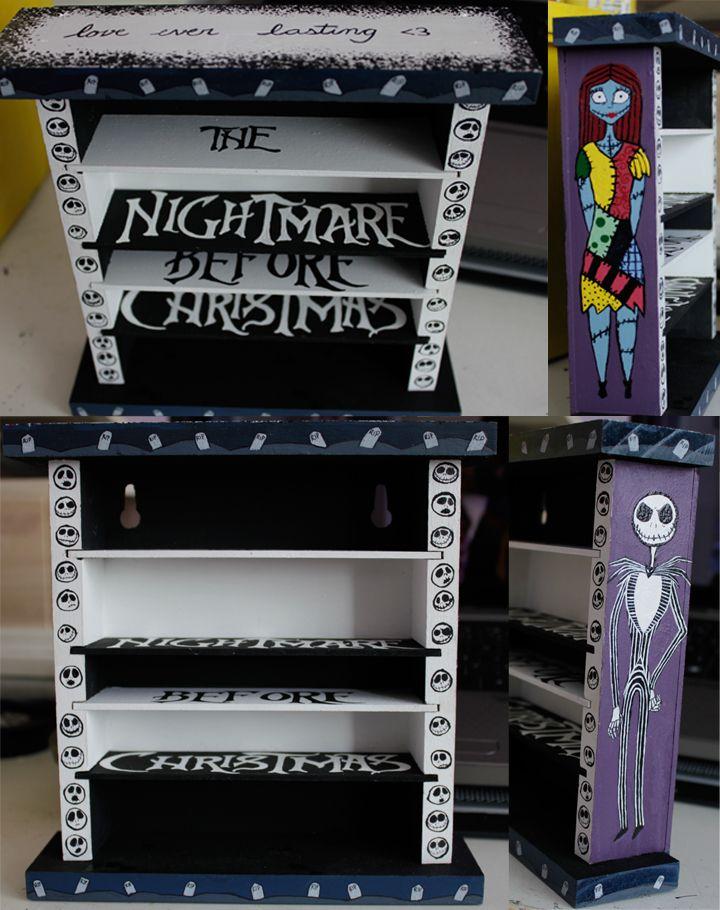 Nightmare Before Xmas Shelves by IchLiebeTiny.deviantart.com on ...