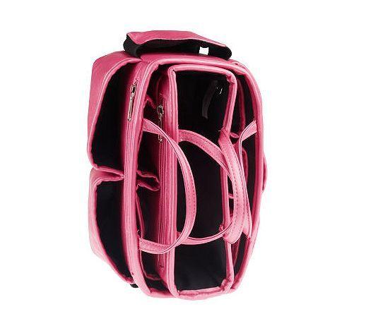 b0f11f0cfc Ready Set Go 2-piece Bag Organizer by Lori Greiner - QVC.com ...