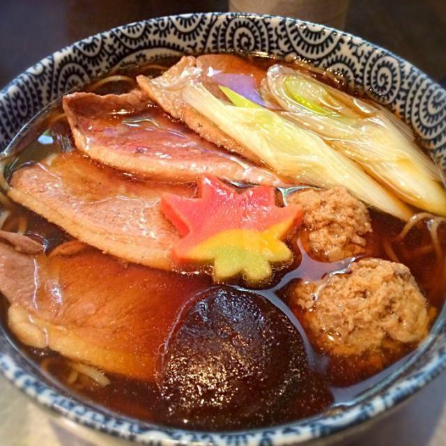自家製粉で美味 - 8件のもぐもぐ - 鴨南ばん by Junya Tanaka