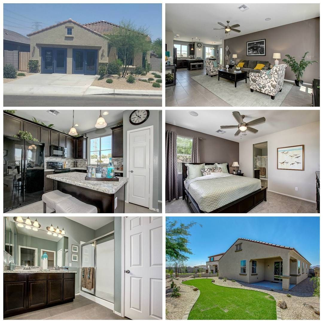 The Vail Model Out At Del Rio Ranch Is Still Available This 1 581 Square Foot Home Has 3 Bedrooms 2 Baths And A Den With House Styles Home Open Floor Plan