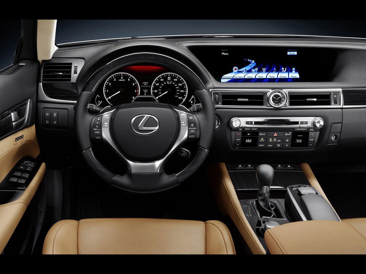 2013 Lexus Gs 350 Dashboard 1280x960 Wallpaper Lexus Ct200h Lexus Lexus Ls