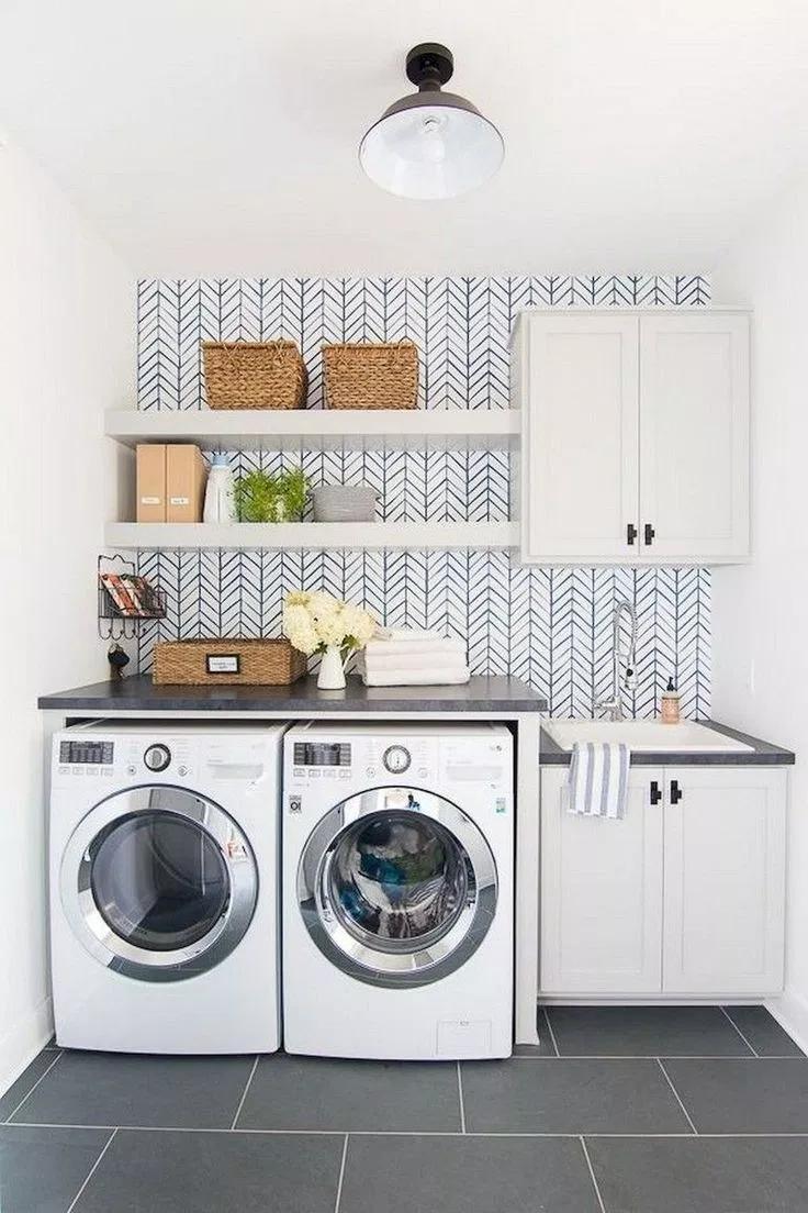 Pin By Amanda Kierzek On Best Laundry Room For Small Space Laundry Room Diy Laundry Room Decor Laundry Room Design