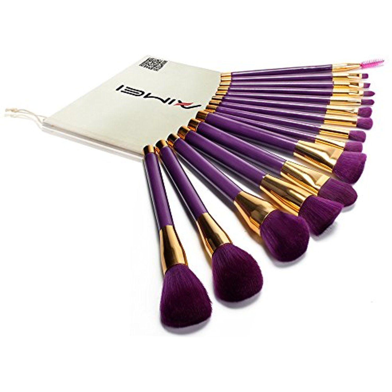 Neverland Beauty Professional 15Pcs Make Up Brushes Set