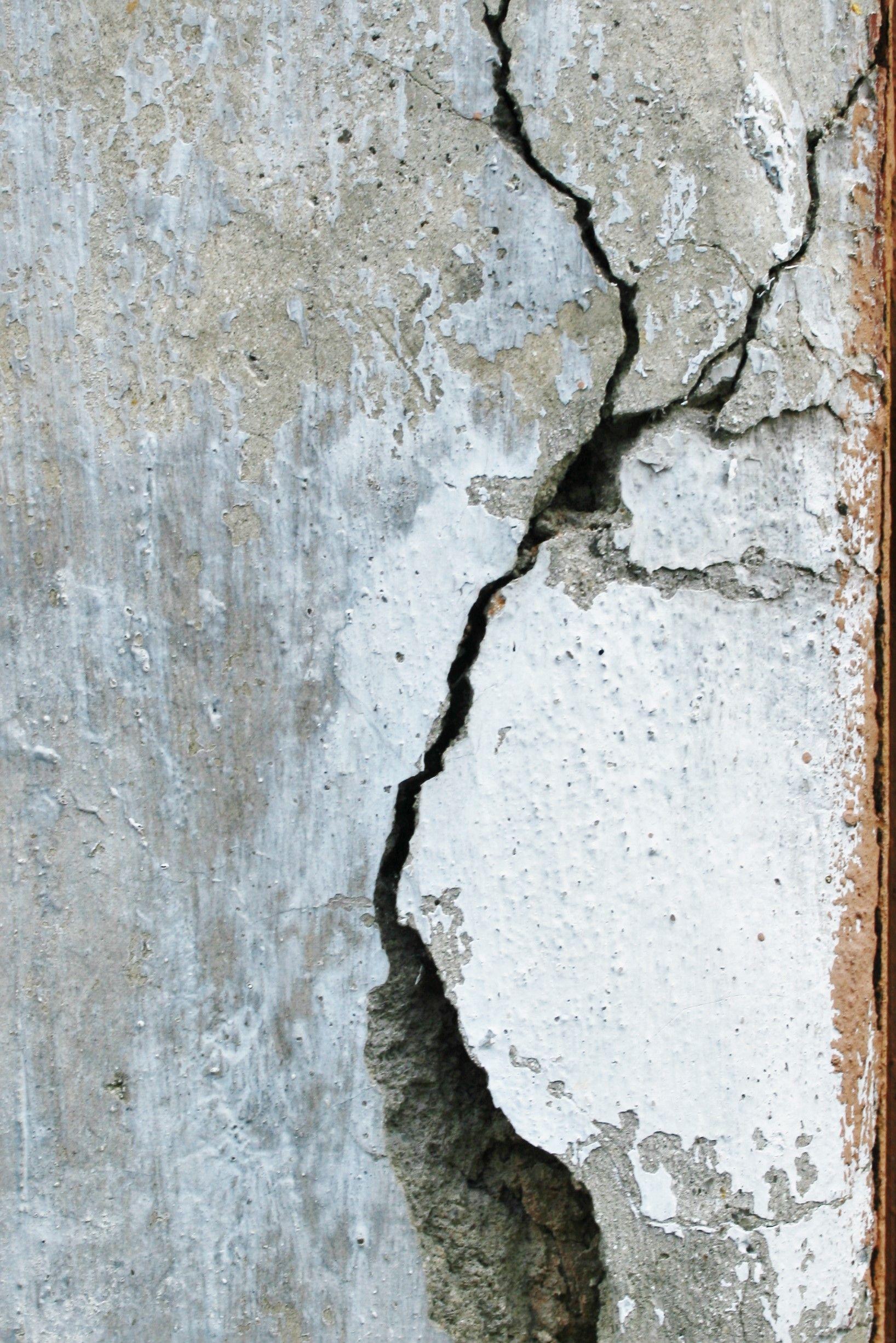 Cracked wall in kathmandu nepal cracked wall texture