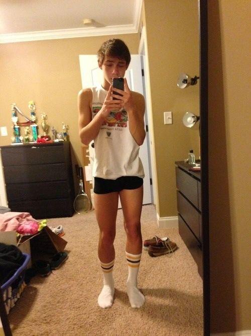 Sexy boys in socks