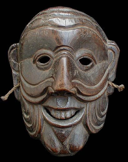 Tantric Buddhist Dance Mask Of The Monpa People Masks Art Tribal Mask African Masks