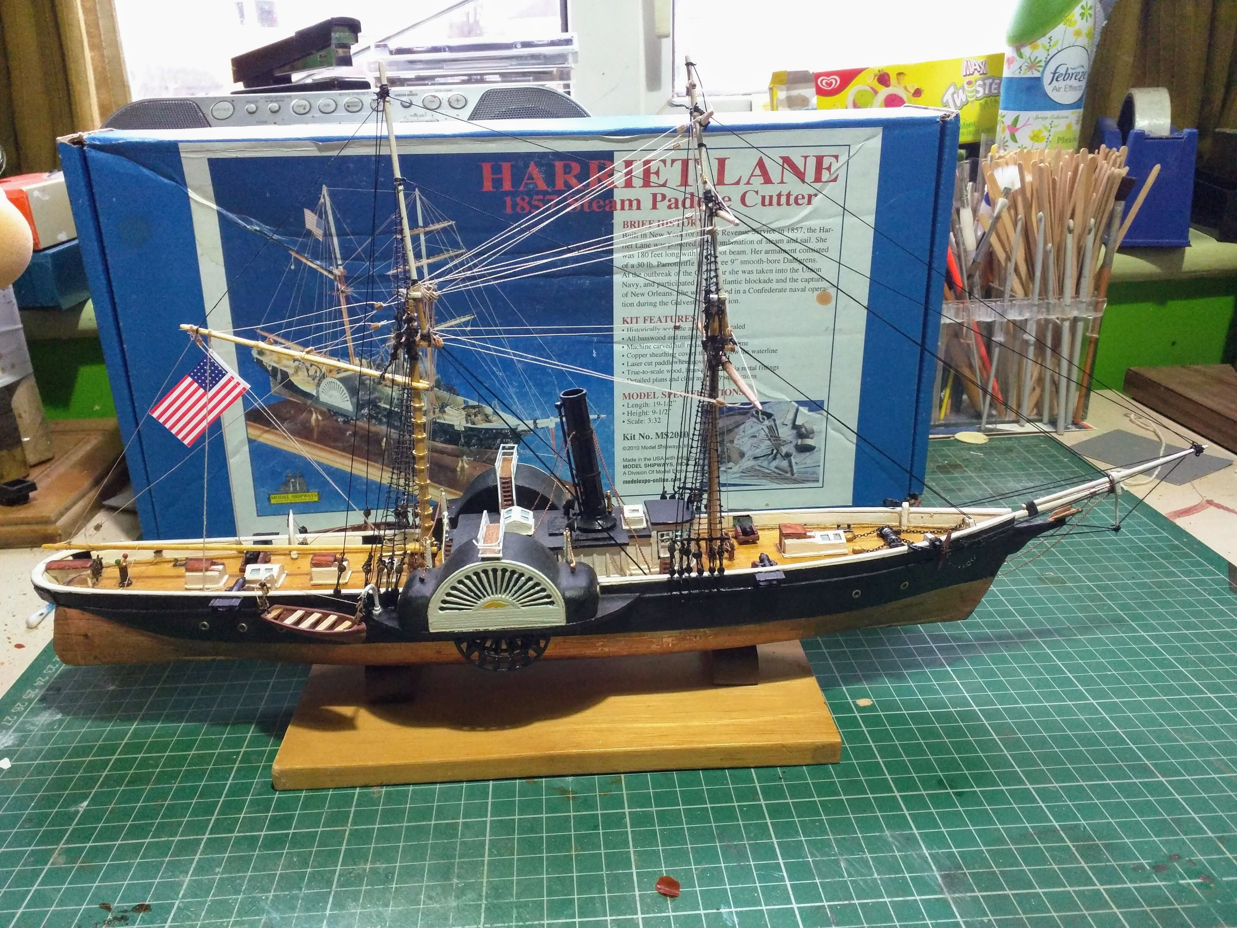 Model Expo HARRIET LANE GUNBOAT 3/32 SCALE Model boats