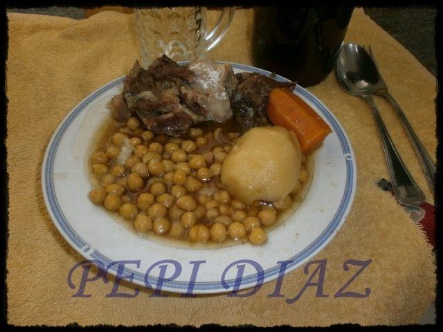 Mis recetas caseras: Cocido extremeño