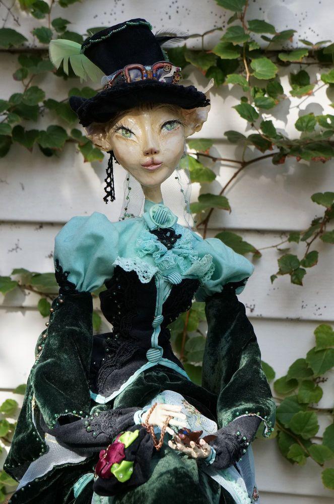 OOAK Custom Steam-punk fantasy art doll. IADR