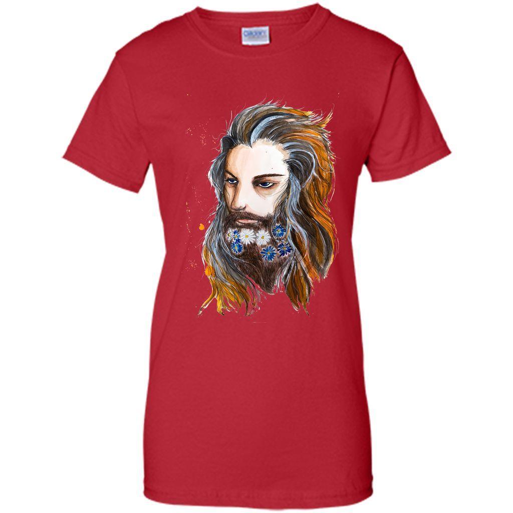 Flora beard T-Shirt