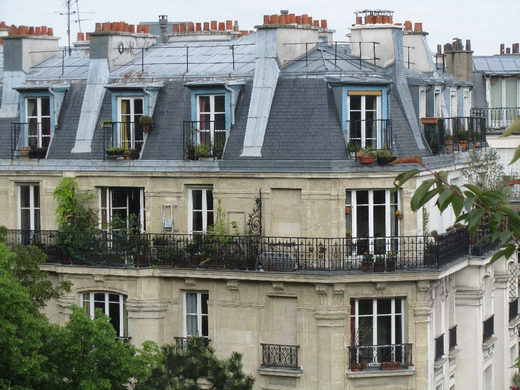 Superb mansard roof of paris mansard roofs r for home for What is a mansard roof