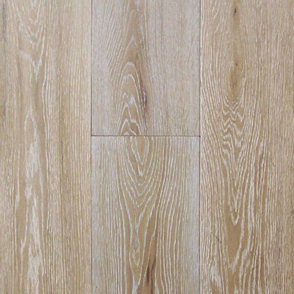 Wide Plank Engineered Wire Brushed Oak Paris White Oak