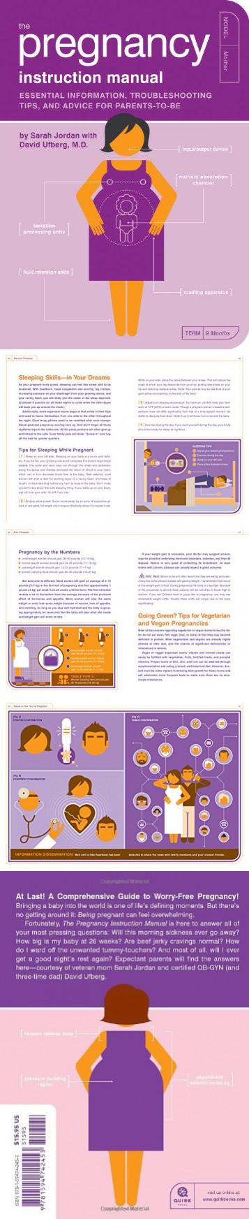 pregnancy instruction manual
