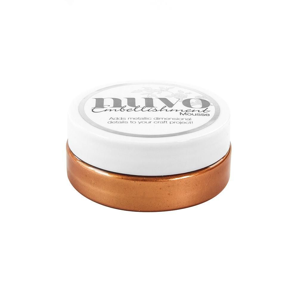 Nuvo Embellishment Mousse - Fresh Copper - 809N