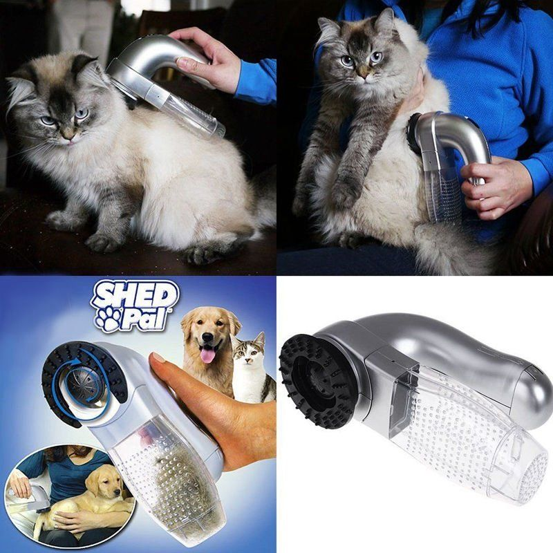 Electric Pet Hair Remover Suction Device For Dog Cat Grooming Vacuum System Clean Fur at Banggood